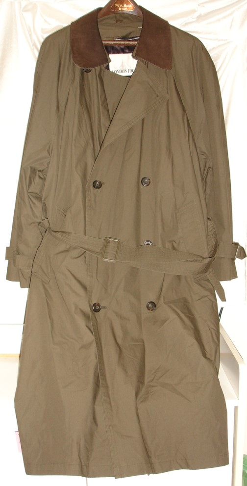 Long Microfiber Raincoat | Mens Rainwear