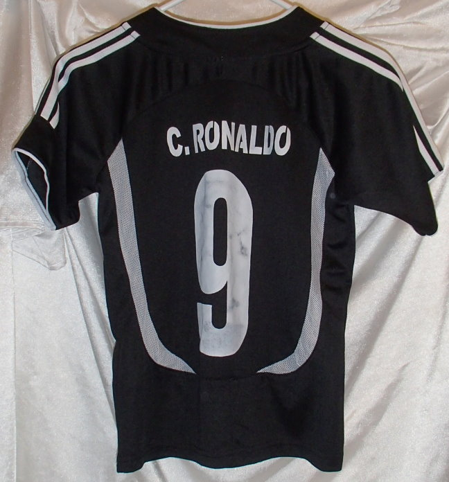 the best attitude 0641b 10514 Cristiano Ronaldo Real Madrid Soccer Jersey Youth Size M on ...